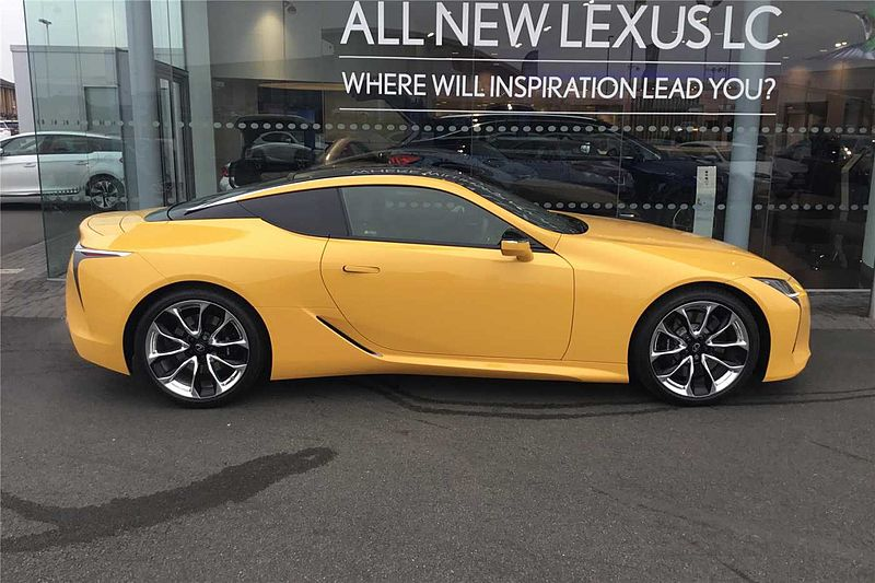 Lexus LC 500 5.0 2 Door Coupe with Sport Plus Pack, HUD & Mark Levinson